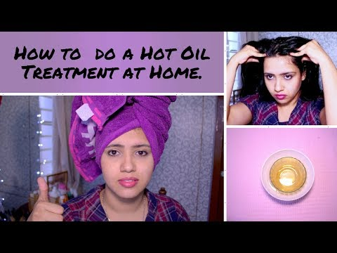 DIY Hot Oil Treatment | How to give yourself a hot oil massage at home.