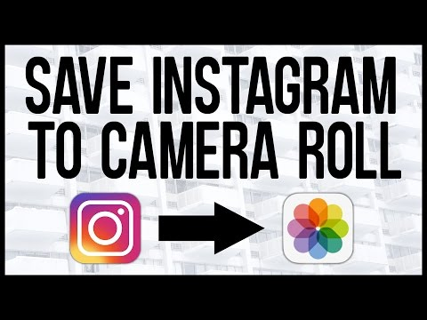 How To Save Instagram Photos To iPhone!