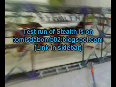 Update # 2 - Stealth - Inverted Knex Roller Coaster