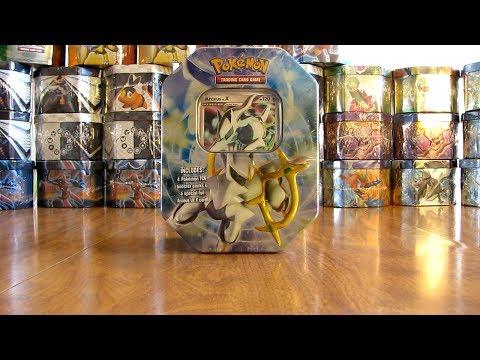 30 Pokemon Tin Opening:  Arceus Lv. X
