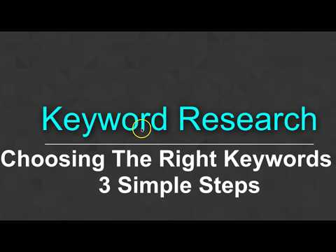 How To Find and Choose Keywords For SEO & Better Google Rankings