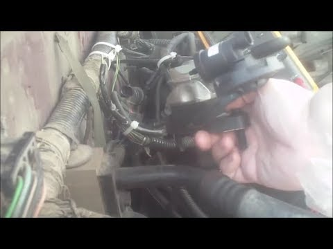 EGR Valve And EGR Solenoid Replacement