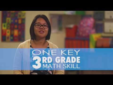 What's the most important 3rd grade math skill? |  GreatSchools