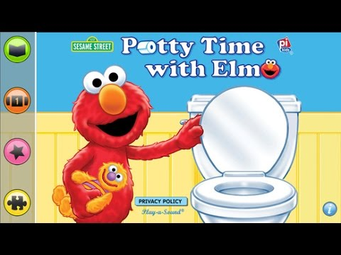 Potty Time with Elmo | Potty Learning App for Kids