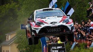 WRC世界ラリー選手権第9戦フィンランド ダイジェスト