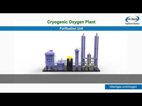 Cryogenic Oxygen Nitrogen Plant Working