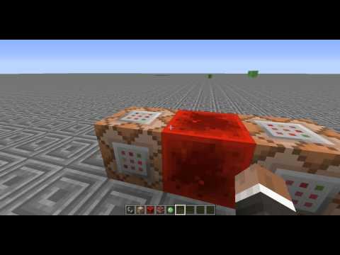 How to Create A Minecraft Tornado Using 2 Command Blocks