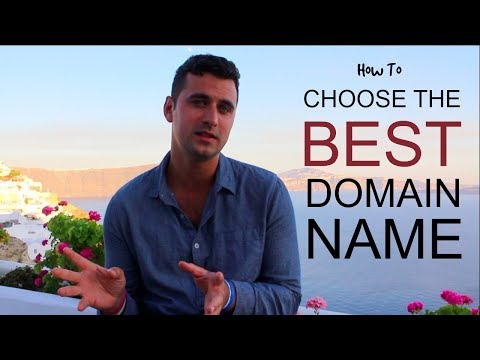 Vlog #1: The Best Domain Name to Start a Blog