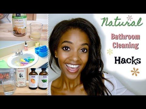 Clean With Me! Natural Cleaners: Clean Your Bathroom Without Chemicals!
