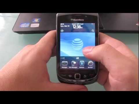 How to unlock Blackberry Torch 9800 9810