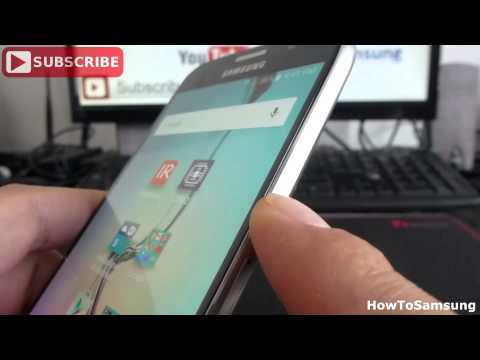 How to Turn On and Off the Samsung Galaxy S6 Basic Tutorials