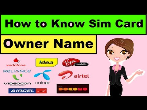 How to Know Sim Card Owner Name in One Click