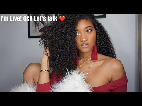 I'm live! Q&A let's talk ❤️ | Victoria Victoria