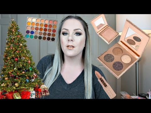 GRWM  HOLIDAY PARTY MAKEUP | ADVICE: College & Moving Away from Home | MakeupbyMegB