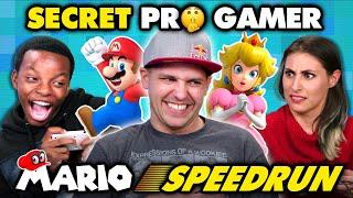 Professional Mario Speedrunner DESTROYS Gamers (React)