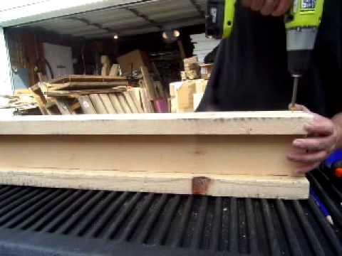 Simple Pallet Wood Saw Horses PMW #05