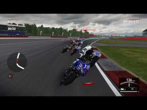 Valentino Rossi The Game weirdest crash ever!
