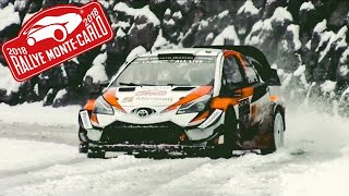 RALLY MONTECARLO 2018 best of flatout & show | PURE SOUND HD