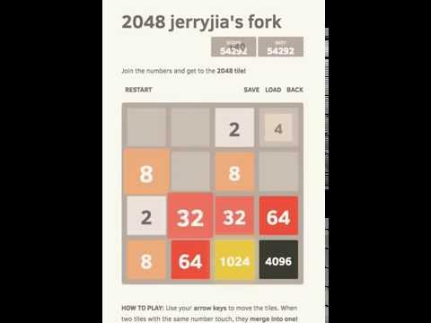 2048 Part 1 8192 tile and 100000 points