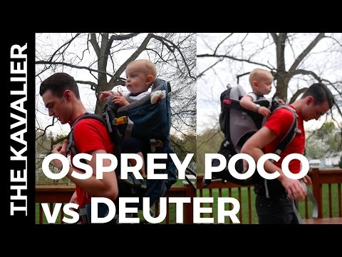 Deuter Kid Comfort vs Osprey Poco AG | The Best Hiking Baby Carrier Review