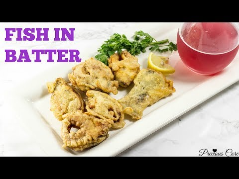 African Fish in Batter - Precious Kitchen - Ep 37