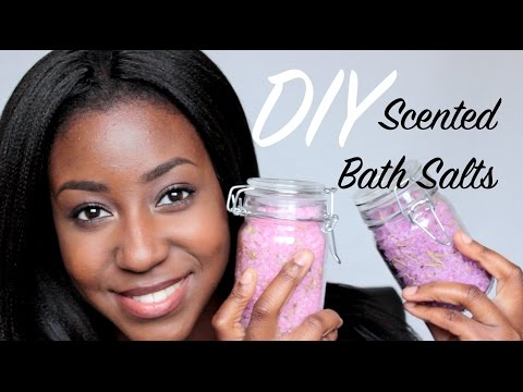 DIY Scented Bath Salts: 2 Recipes! @itsLakishaa
