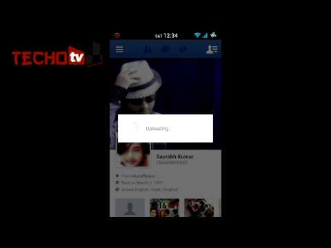 How to Change Facebook Profile picture from Mobile phone