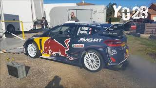 WRC Tour de Corse 2018 Team Ford Ogier - Yo2B Production