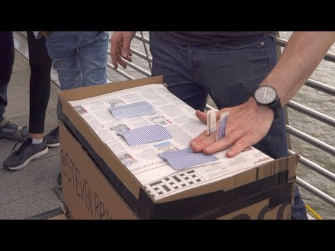 Three Card Monte Scam in London | Steven Bridges
