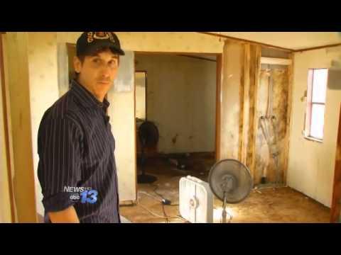 Volunteers Help Restore Veteran's Home