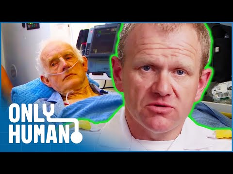 Elderly Man's Internal Defibrillator Saves His Life | Paramedics Episode 6 | Only Human