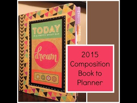 Composition Book to Planner Part One