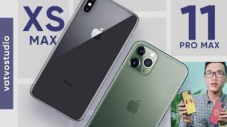 Đang dùng iPhone XS Max có nên nâng cấp lên 11 Pro Max?