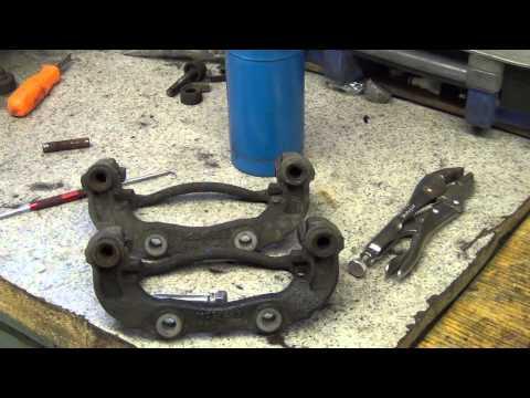 Brake Caliper Slide Bolt Extraction How To