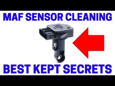 How To Super Clean Mass Air Flow Sensor On Cars