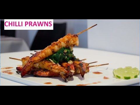 How to  Cook : Chilli Prawns made easy.