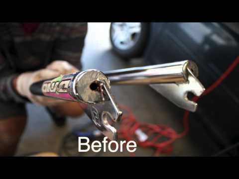 How to clean rust off of a chrome bike