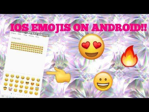 How to get ios emojis on samsung galaxy s7/8 (no root)Working!!!