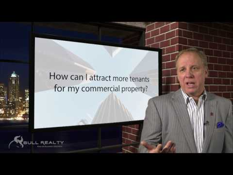 How can I attract more tenants for my commercial property?