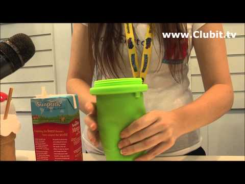 The Chill Factor Squeeze Cup Slushy Maker