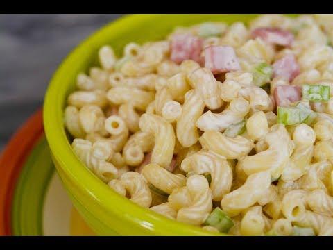 Macaroni Salad Recipe   How To Make Ensalada de Coditos   SyS