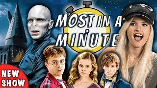 Who Can Name The Most Harry Potter Characters In A Minute? (NEW SHOW!)