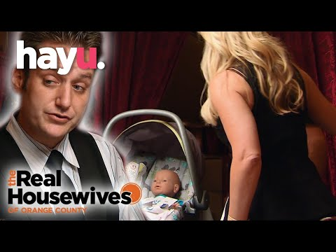 Tamra And Eddie Take Their Robot Baby Out To Dinner | The Real Housewives of Orange County