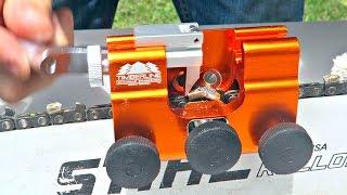 Timberline Chainsaw Sharpener Test