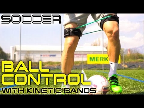 Improve Ball Control for Soccer (Football) Using Kinetic Bands (Leg Resistance Bands)