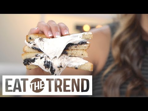 Oreo Grilled Cheese | Eat the Trend