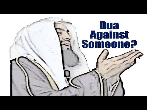 Dua Against Someone You Hate? - Mufti Menk