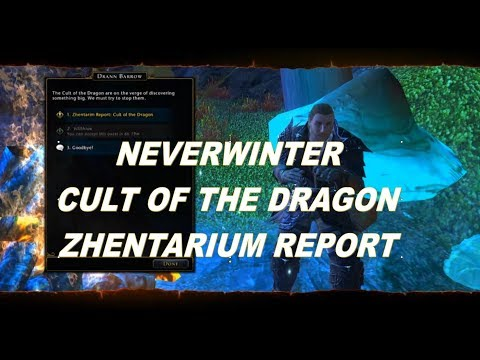 Neverwinter Tyranny of Dragons Well of Dragons Campaign Zhentarium Report part 1