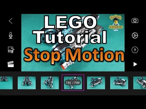 How to make a Lego Stop Motion Video - Lego Tutorial #1