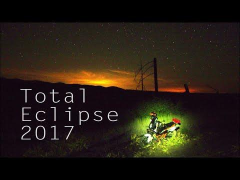 Total Solar Eclipse - MotoCamping KTM 990 ADV